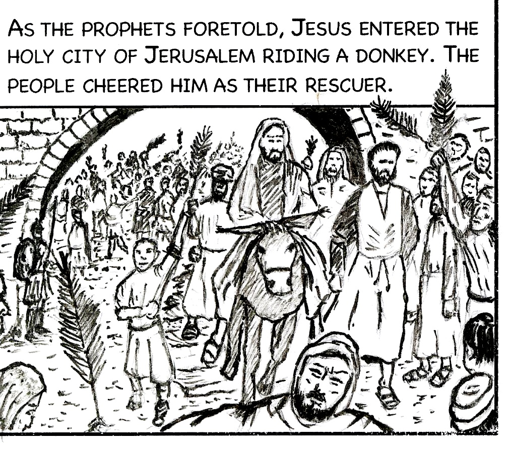 free jesus coloring book