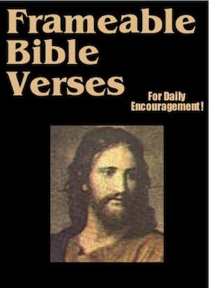 frameable Bible verses