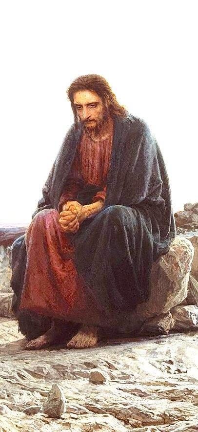 lonely Jesus