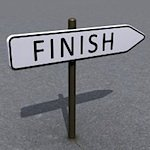 Finish line sig